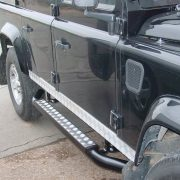 Defender 110 crew cab side steps
