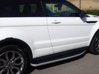 QuickTread Range Rover Evoque side steps