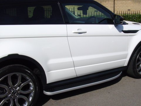 Range Rover Evoque Side Steps Deluxe Rubber Moulded
