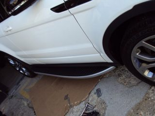 Range Rover Evoque side steps