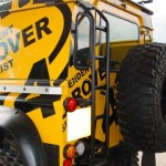 QuickTread Defender 90 and 110 roof rack ladder