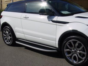 Quicktread Range Rover Evoque Side Steps - 300x225