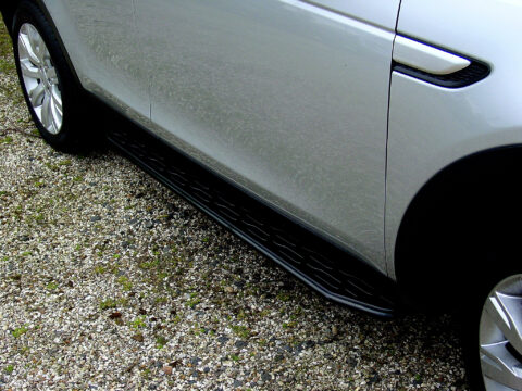 Discovery Sport rubber moulded black side steps