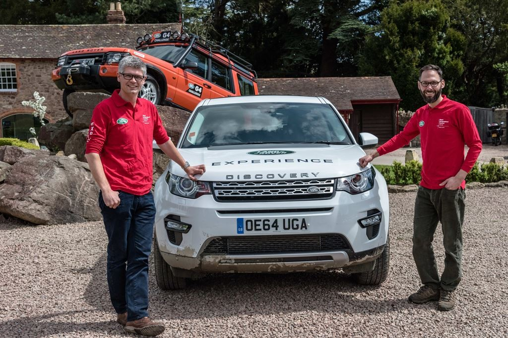 Land Rover Sport that will be used on the No Man's Land research expedition in September 2015