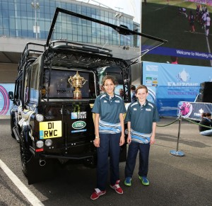2015 Rugby World Cup Mascots in partnership with Land Rover | Sidesteps UK
